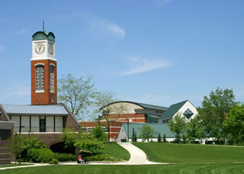 Grand Valley State University Campus in Allendale